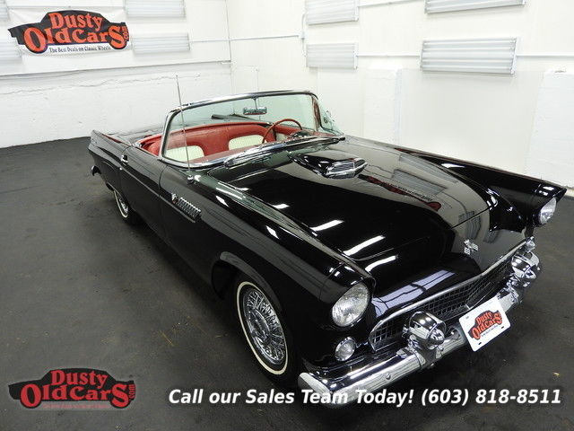 1955 Ford Thunderbird Runs Drives Body Inter VGood 292V8 3spd auto