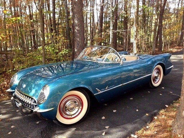 1955 Chevrolet Corvette BLOOMINGTON GOLD WINNER