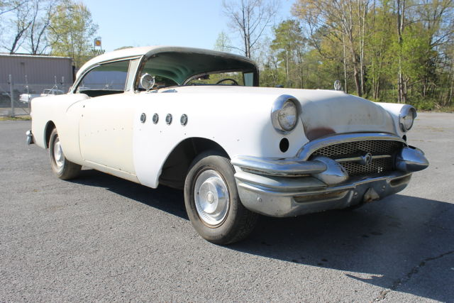 1955 Buick Century 55 Project Car Barn Find Hotrod Hot Rod Sled Custom Kemp GM
