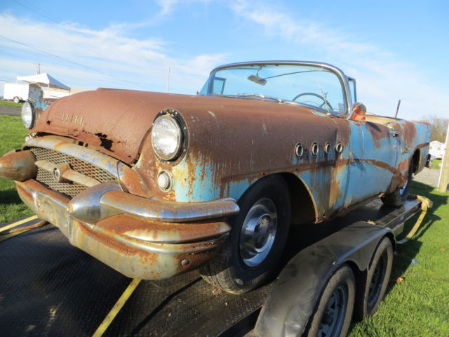 1955 Buick Century Project   donor