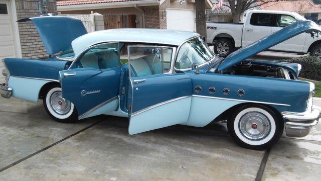 1955 BUICK CENTURY RIVIERA ONLY 31000 ORIG TURN KEY 56 56