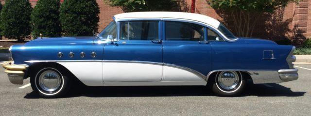 1955 buick roadmaster sedan for sale photos technical. Black Bedroom Furniture Sets. Home Design Ideas