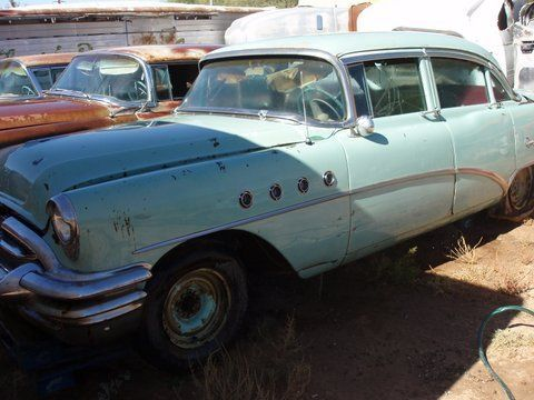 1955 buick super 322 v 8 4 door hardtop arizona car for 1955 buick special 4 door for sale