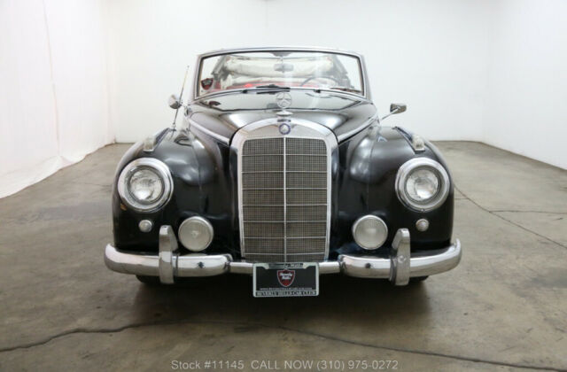 1955 Black Mercedes-Benz 300-Series with Other Color interior
