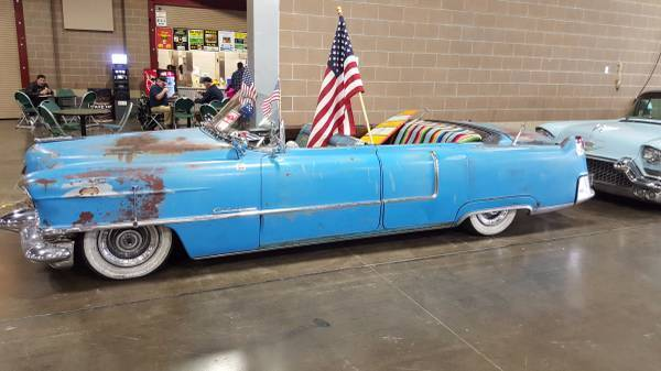 1955 cadillac chop top rat rod custom for sale for Troy motor mall cadillac