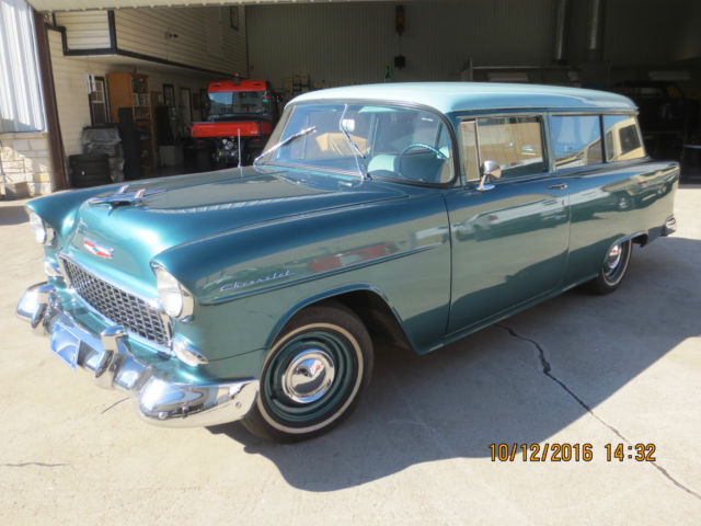 1955 Chevrolet Bel Air/150/210 Station Wagon; 2 Door