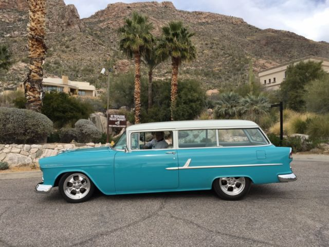 1955 Chevrolet 2 door Station Wagon