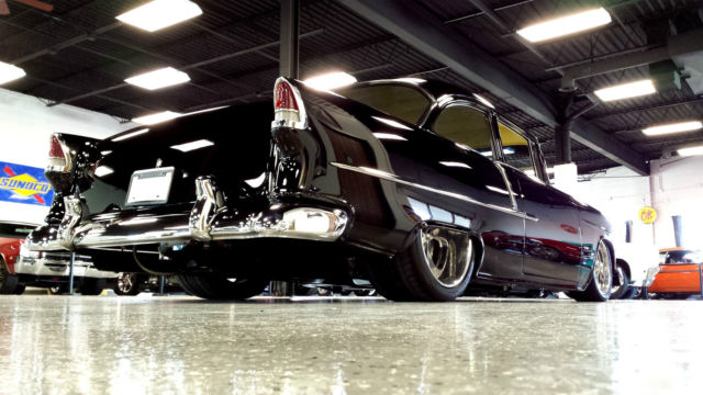 1955 Chevrolet 210 Post Car Over The Top Restoration