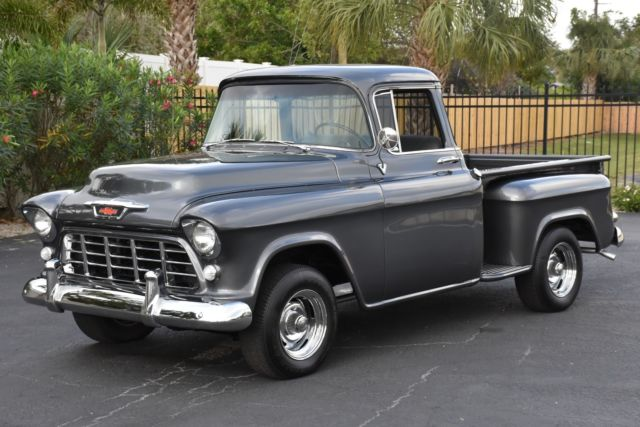 1955 Chevrolet Other Pickups Step-Side All Stock 265C.I. V-8 Hydramatic Transmi