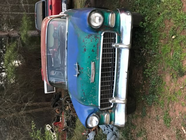 1955 Chevrolet 4 Door No Motor Transmission Project Car