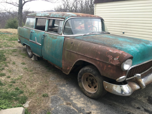 1955 Chevrolet Bel Air/150/210 Rat Hot Rod Wagon