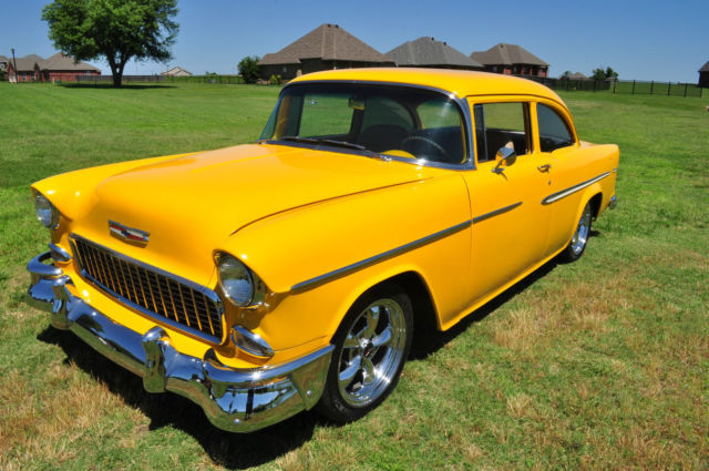 19550000 Chevrolet Bel Air/150/210 Bel Air 2 Door Post