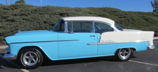 1955 Chevrolet Bel Air/150/210 Sport Coupe 2 Door no post
