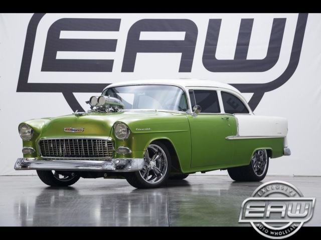 1955 Chevrolet Bel Air 210 0 Green 540 V8 SUPERCHARGED