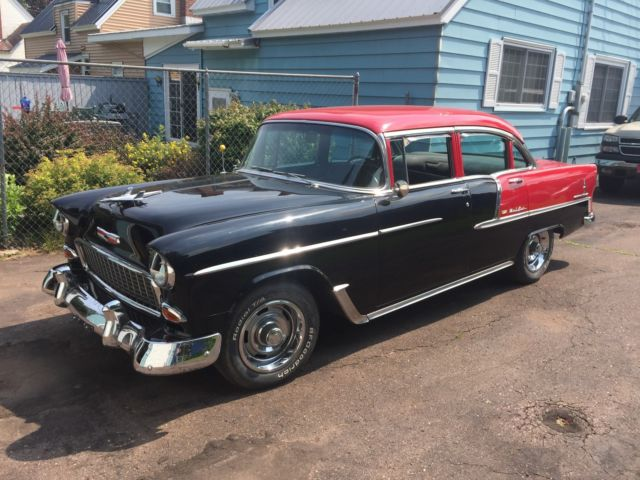 1955 Chevrolet Bel Air restored 283 with Tripower for sale