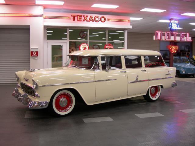 1955 Chevrolet Bel Air Wagon Street Rod For Sale Photos Technical