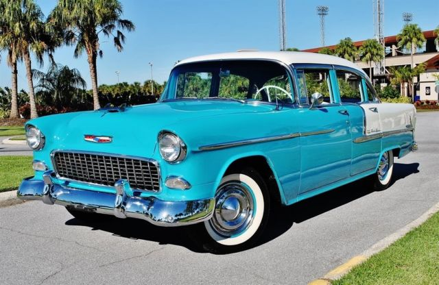 1955 Chevrolet Bel Air/150/210 210 Fully Restored 350 V8 Automatic
