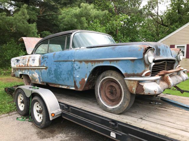 1955 Chevrolet BelAir Hardtop Project for sale: photos