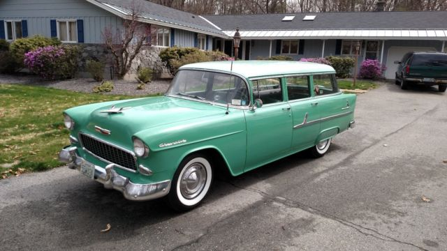 1955 Chevrolet Bel Air/150/210 Townsman Wagon