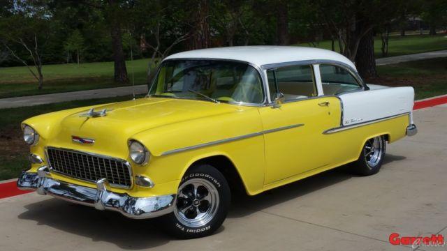 1955 Chevrolet Belair Two Door Sedan Mild Custom Built 327