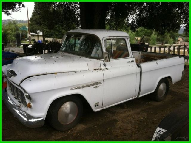 1955 Chevrolet Other Pickups Cameo Carrier Pickup Original RWD Truck