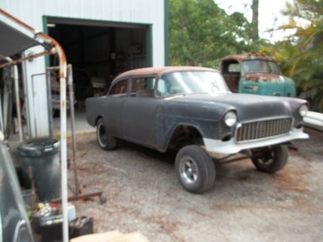 1955 Chevrolet Chevy Gasser Rat Rod Drag Car Project
