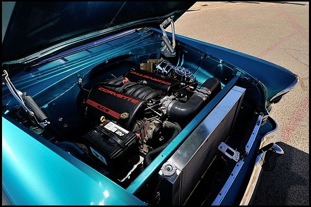 1955 Chevrolet Chevy Nomad Resto Mod With Corvette Ls1