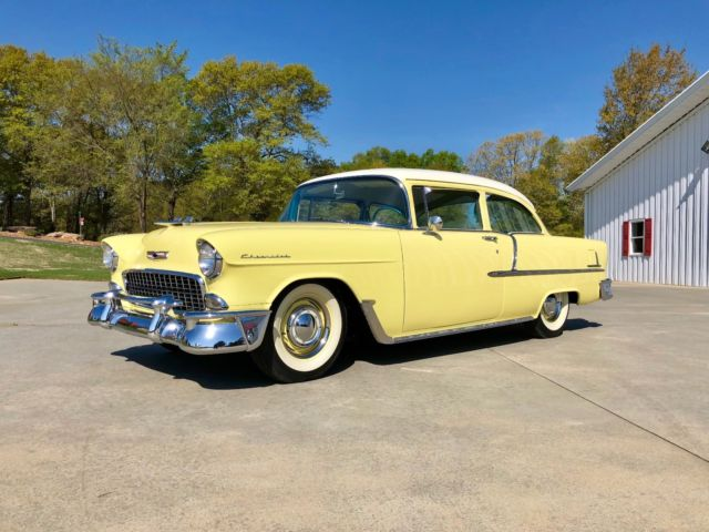 1955 Chevrolet Bel Air/150/210 55 Chevy Two-ten Delray Club Coupe