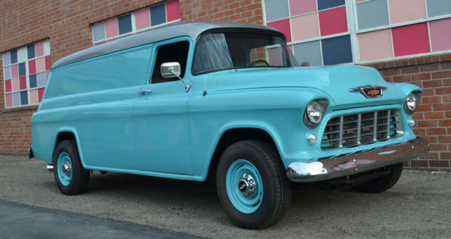 1955 Chevrolet Panel Truck Duramax Diesel 66 PPE Allison Transmission