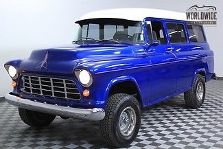1955 Chevrolet Suburban Napco Tribute. PS. PB. Custom Hot Rod!
