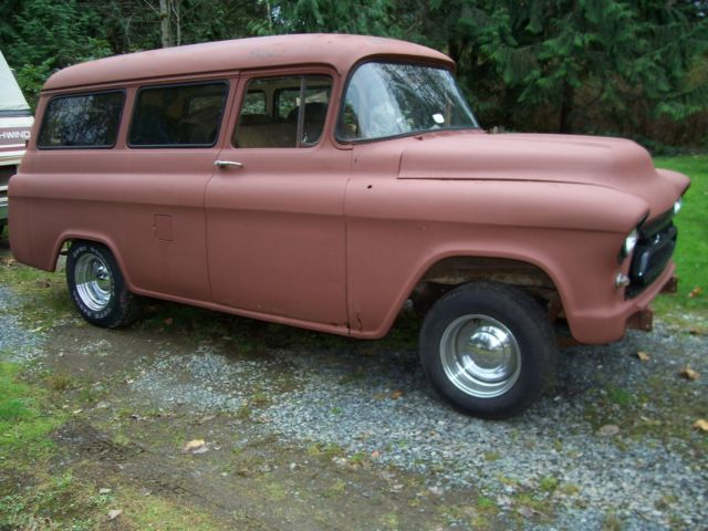1955 Chevrolet Other Pickups 3100 suburban