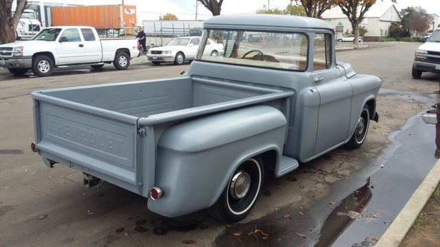 1955 chevrolet truck 3100 short bed big rear window patina for 1955 gmc 5 window pickup for sale