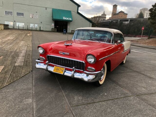 1955 Chevrolet Usa Bel Air 2 Door Sedan 235 Cui Full Restoration