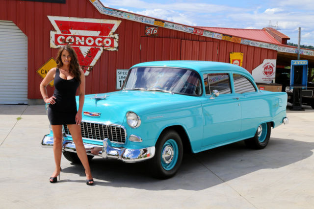 1955 Chevy 150 Ls2 Free Shipping Tremec 6 Speed 4wpdb Ps
