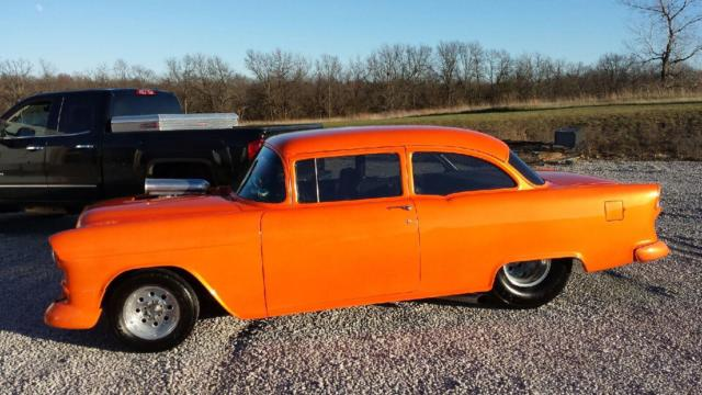 1955 chevy 2 door post street rod for sale 454 w 800 hp priced to sell fast for sale photos. Black Bedroom Furniture Sets. Home Design Ideas