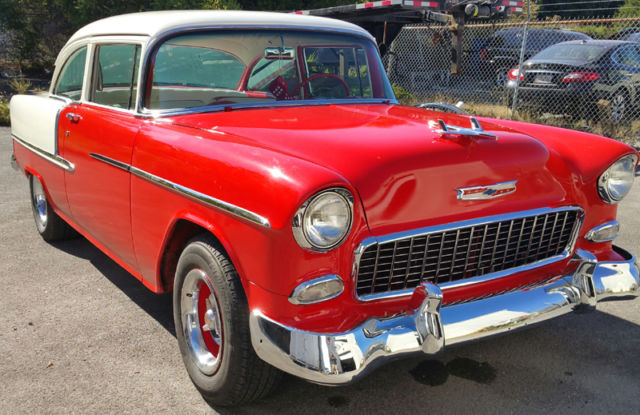 1955 Chevy 2 Door Post With 327 4 Speed May Trade For