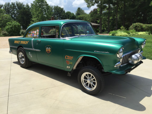 1955 Chevy 210 Gasser For Sale  Photos  Technical