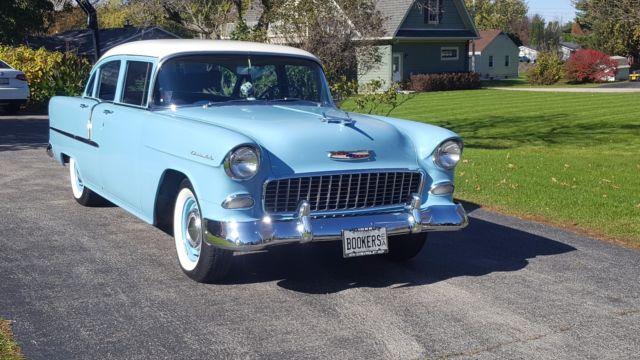 1955 Chevy 210 Great Near Original Condition Factory Air Original