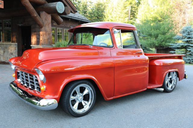 1955 Chevrolet Other Pickups 3100 Big Window Short Box Restored Hot Rod