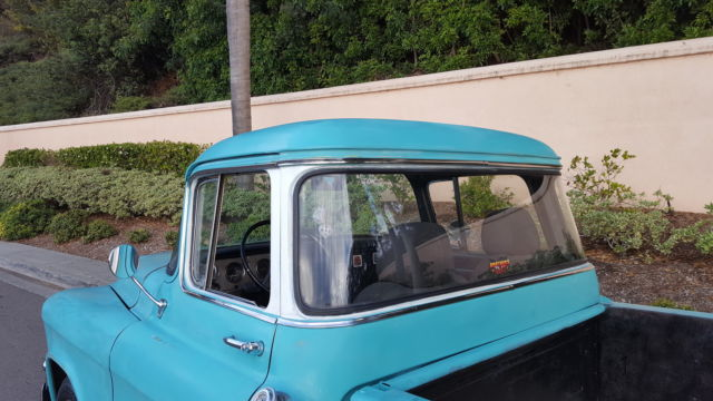 1955 chevy 3100 gmc 100 big window short bed pickup for 1955 chevy big window for sale