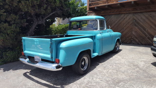 1955 chevy 3100 gmc 100 big window short bed pickup for 1955 gmc 5 window pickup for sale