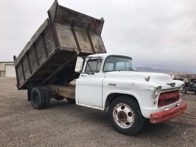 1955 Chevy 4100 Truck W Dump Bed For Sale Photos