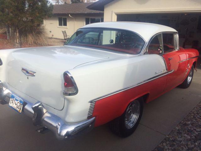 1955 chevy bel air 2 door hard top convertible for sale for 1955 chevy 4 door to 2 door conversion