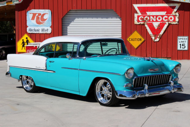 1955 Chevy Bel Air 2 Door Hard Top Frame Off Resto 4wpdb