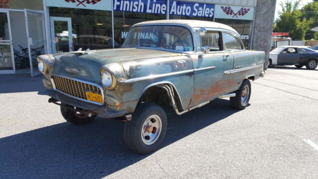 1955 Chevrolet Bel Air/150/210 GASSER WITH 383 STROKER ROLLER MOTOR