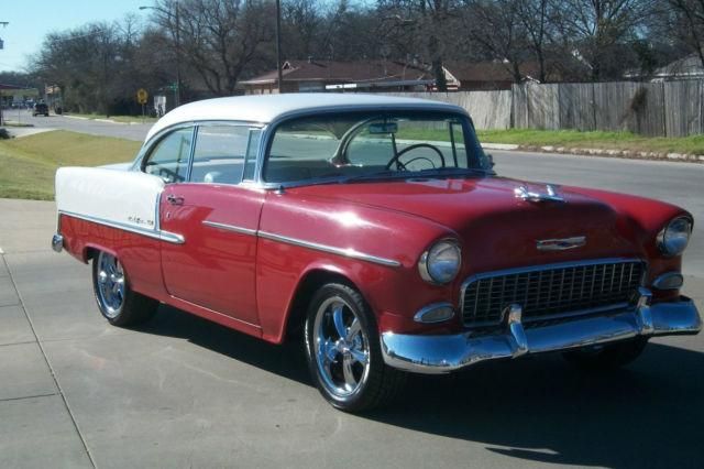 1955 chevy bel air 2 door hardtop nice paint nice interior for 1955 chevrolet 2 door hardtop for sale