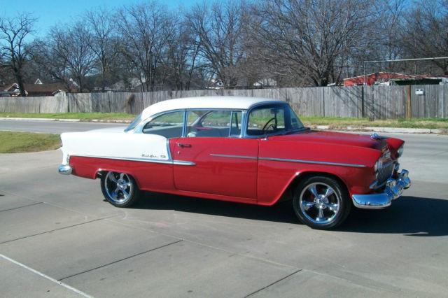 1955 chevy bel air 2 door hardtop nice paint nice interior for 1955 chevy belair 2 door hardtop for sale