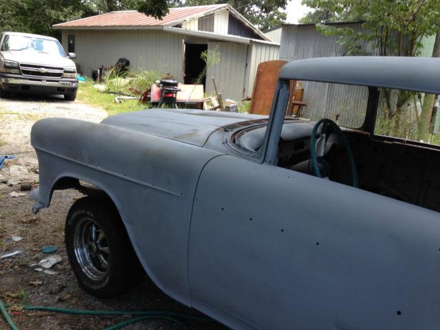 1955 Chevy Bel Air 2 door hardtop Project car for sale