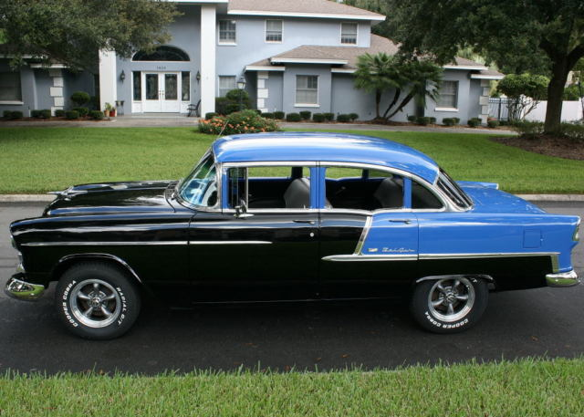 1955 chevy bel air 4 door for sale photos technical