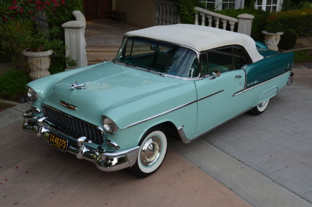 1955 Chevrolet Bel Air/150/210 Bel Air Conv